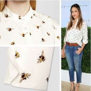 Victoria Beckham for Target | bumblebee blouse 🐝